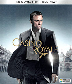 007 - Casino Royale (4K UHD + Blu-ray)