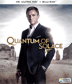 007 - Quantum of Solace (4K UHD + Blu-ray)
