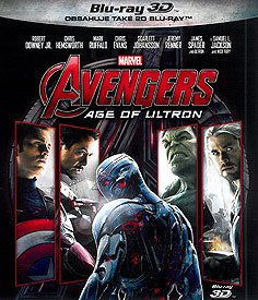 Avengers: Age of Ultron (3D Blu-ray)