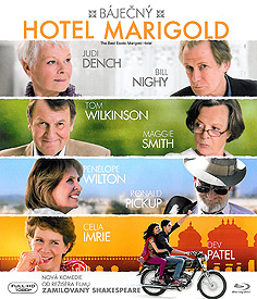 Báječný hotel Marigold (Blu-ray)