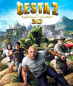 Cesta na tajupný ostrov 2 (3D Blu-ray)