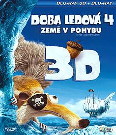 Doba ledová 4: Země v pohybu (3D Blu-ray)