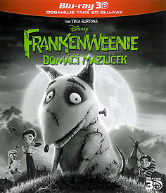Frankeweenie: Domácí mazlíček (3D Blu-ray)