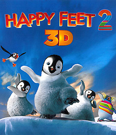 Happy Feet 2  (3D Blu-ray)