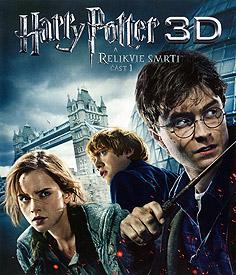 Harry Potter a Relikvie smrti - část 1 (3D Blu-ray)