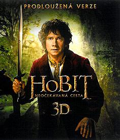 Hobit: Neočekávaná cesta - prodloužená verze (3D Blu-ray)