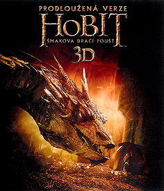 Hobit: Šmakova dračí poušť - prodloužená verze (3D Blu-ray)