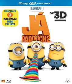 Já, padouch 2 (3D Blu-ray)