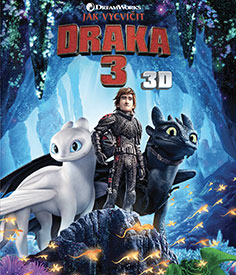 Jak vycvičit draka 3 (3D - Blu-ray)