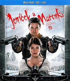 Jeníček a Mařenka: Lovci čarodějnic (3D Blu-ray)
