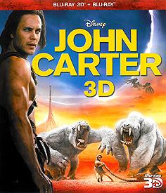 John Carter: Mezi dvěma světy (3D Blu-ray)