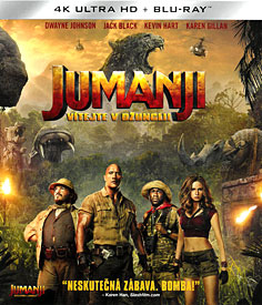 Jumanji: Vítejte v džungli! (4K UHD)