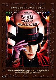 Karlík a továrna na čokoládu (2 DVD)