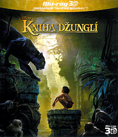 Kniha džunglí (3D Blu-ray)