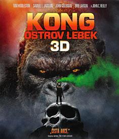 Kong: Ostrov lebek (3D Blu-ray)