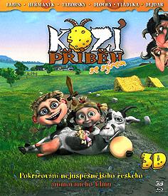 Kozí příběh se sýrem (2D + 3D Blu-ray)
