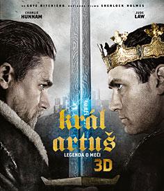 Král Artuš: Legenda o meči (3D Blu-ray)