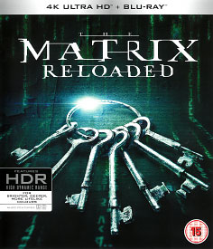 Matrix Reloaded (4K-UHD + Blu-ray)