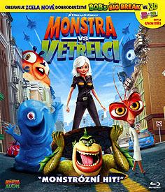 Monstra vs. Vetřelci (Blu-ray)