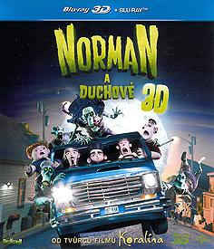 Norman a duchové (2D + 3D Blu-ray)