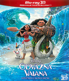 Odvážná Vaiana: Legenda o konci světa (3D Blu-ray)