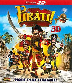 Piráti (2D + 3D Blu-ray)