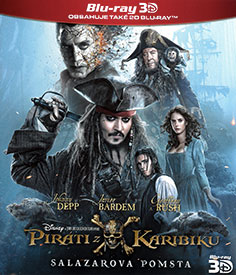 Piráti z Karibiku: Salazarova pomsta (3D Blu-ray)