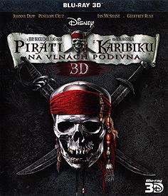 Piráti z Karibiku 4: Na vlnách podivna (Blu-ray 3D)