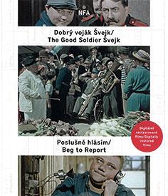 Dobrý voják Švejk / Poslušně hlásím (Blu-ray)