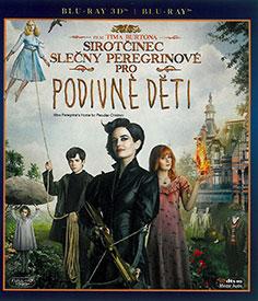 Sirotčinec slečny Peregrinové pro podivné děti (3D Blu-ray)