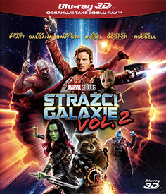 Strážci Galaxie Vol. 2 (3D Blu-ray)