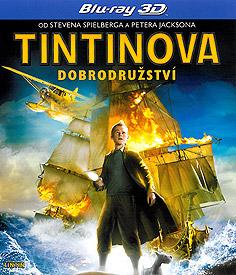Tintinova dobrodružství (3D Blu-ray)