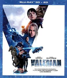 Valerian a město tisíce planet (3D Blu-ray)