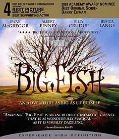 Velká ryba (Blu-ray Disc)