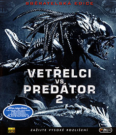 Vetřelci vs. Predátor 2 (Blu-ray Disc)