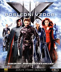 X-Men 3: Poslední vzdor (Blu-ray Disc)
