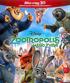 Zootropolis: Město zvířat (3D Blu-ray)