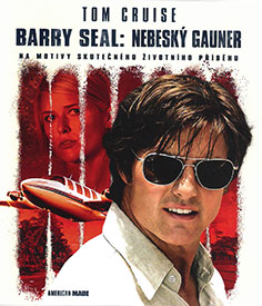 Barry Seal: Nebeský gauner (Blu-ray)