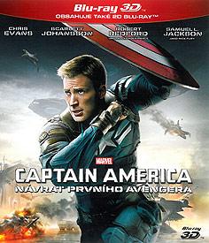 Captain America: Návrat prvního Avengera (3D Blu-ray)