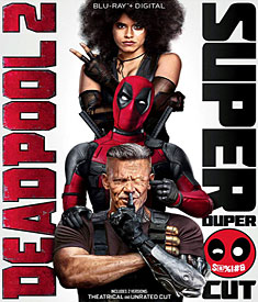 Deadpool 2: Super nadupaná verze (Blu-ray)
