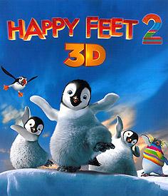 Happy Feet 2  (3D Blu-ray)