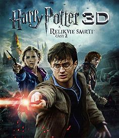 Harry Potter a Relikvie smrti - část 2 (3D Blu-ray)