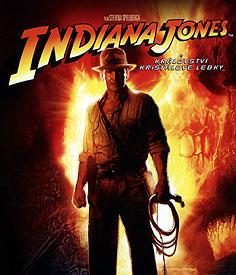 Indiana Jones a Království křišťálové lebky (Blu-ray)
