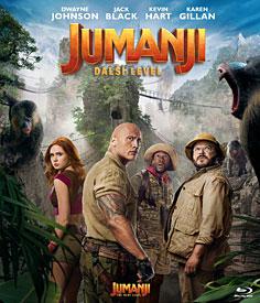 Jumanji: Další level (Blu-ray)