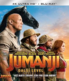 Jumanji: Další level (4K-UHD)
