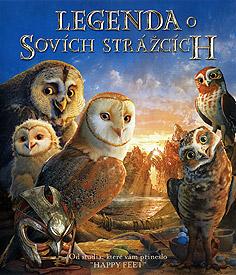 Legenda o sovích strážcích (Blu-ray)