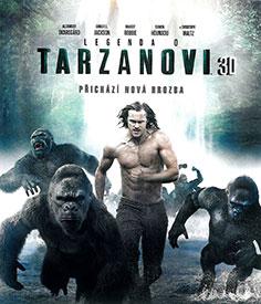 Legenda o Tarzanovi (3D Blu-ray)