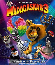 Madagaskar 3 (Blu-ray)