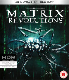 Matrix Revolutions (4K-UHD + Blu-ray)