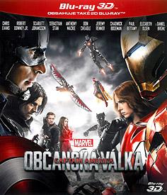 Captain America: Občanská válka (3D Blu-ray)